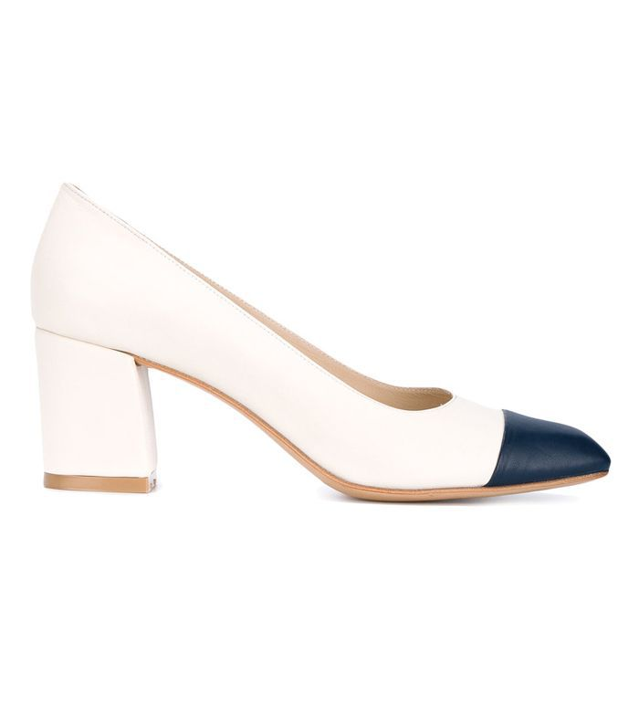 Maryam Leather Pumps