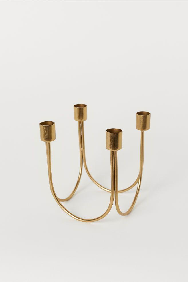 H&M Metal Candlestick