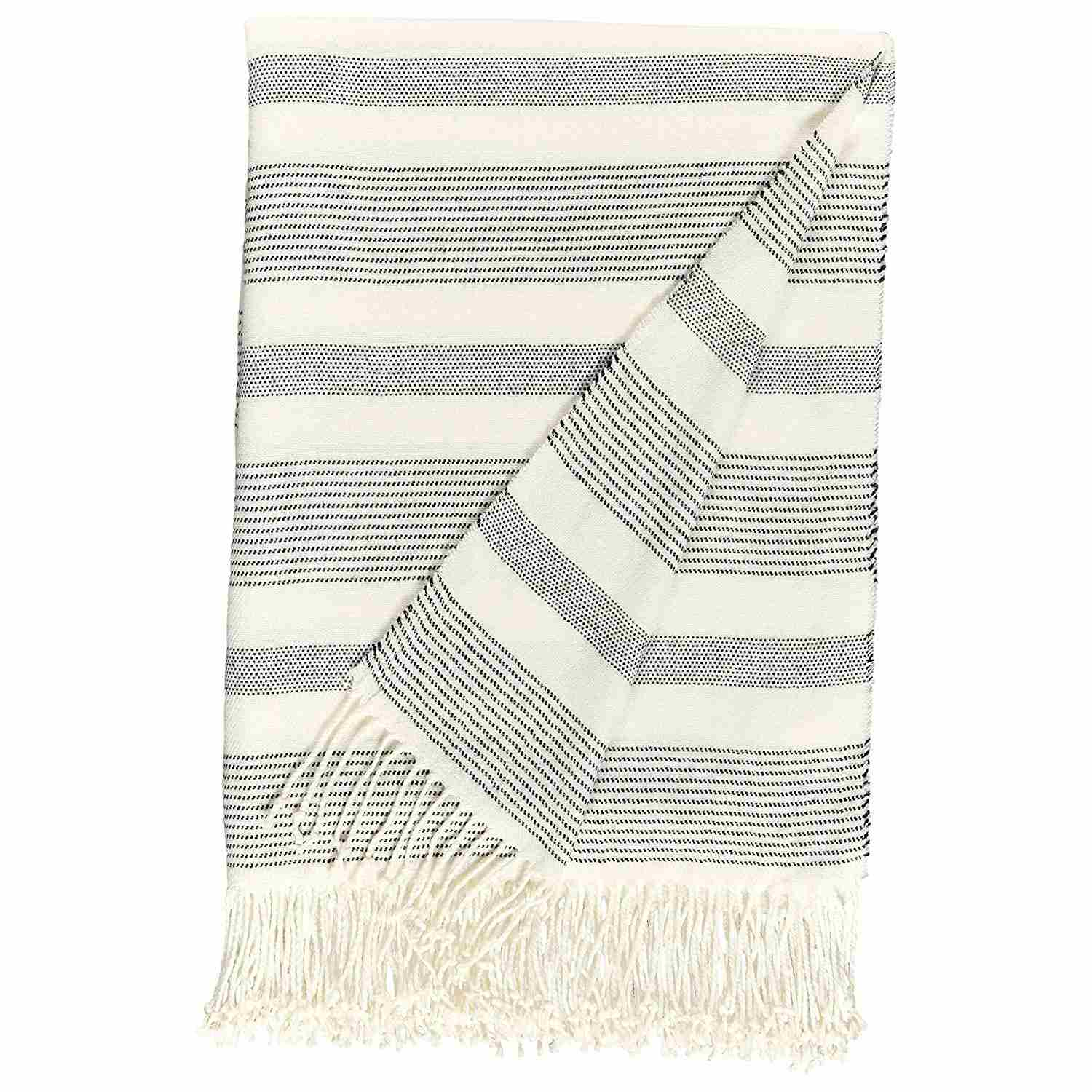 Striped Throw Blanket—Amazon Mother's Day Gifts