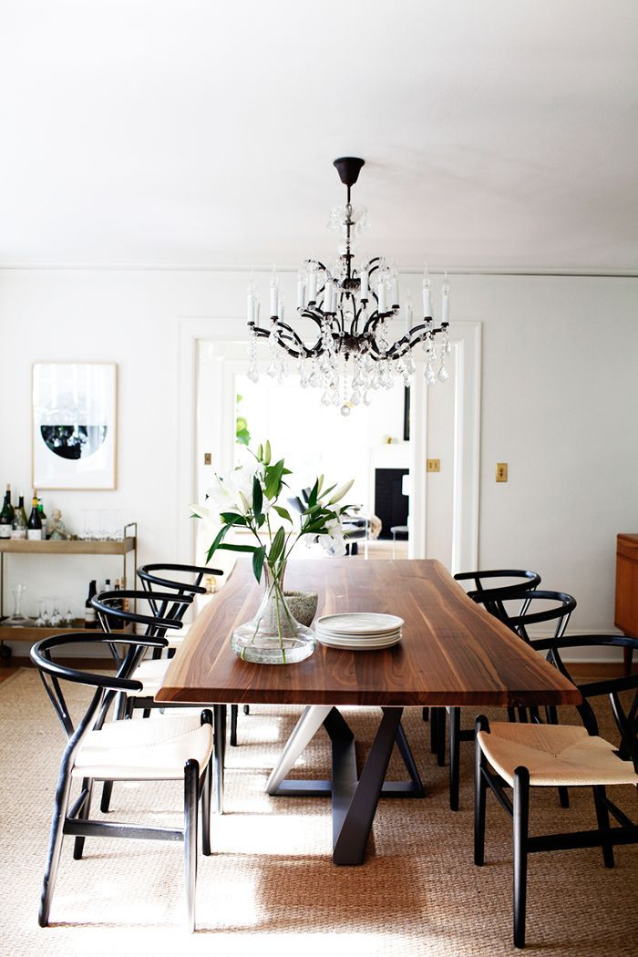dining room in renovated Seattle home