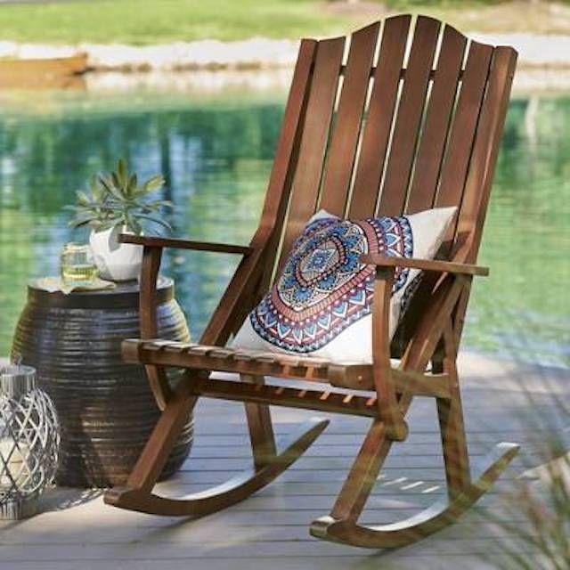 Grandin Road Newcomb Rocking Chair