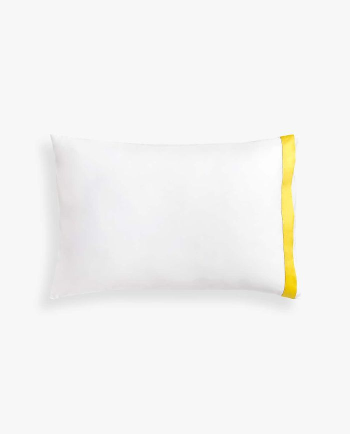 Zara Home Pillowcase with Contrasting Sateen Border