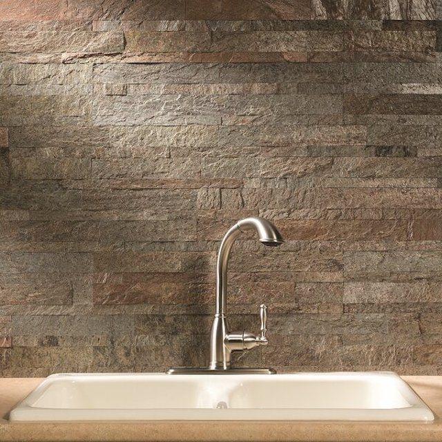 Aspect Natural Stone Peel & Stick Mosaic Tile - Wayfair