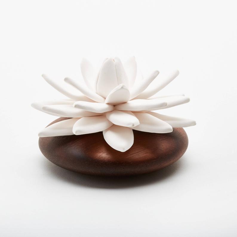 Lotus flower oil diffuser