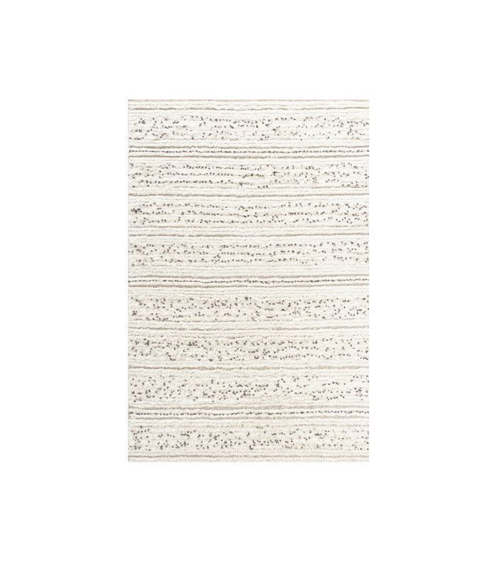 Cost Plus World Market Ivory Moroccan Style Wedding Blanket/Area Rug
