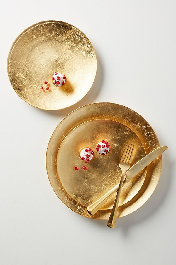 Reign Dinner Plates, Set of 4