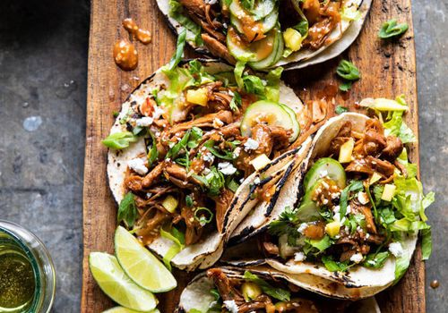 instant pot korean bulgogi bbq tacos.