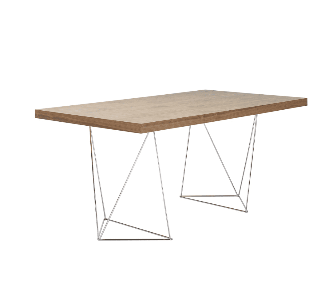 Multi Table with Trestle Base by Tema Home
