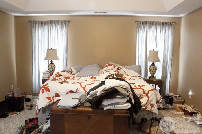 Before and After — Master Bedroom