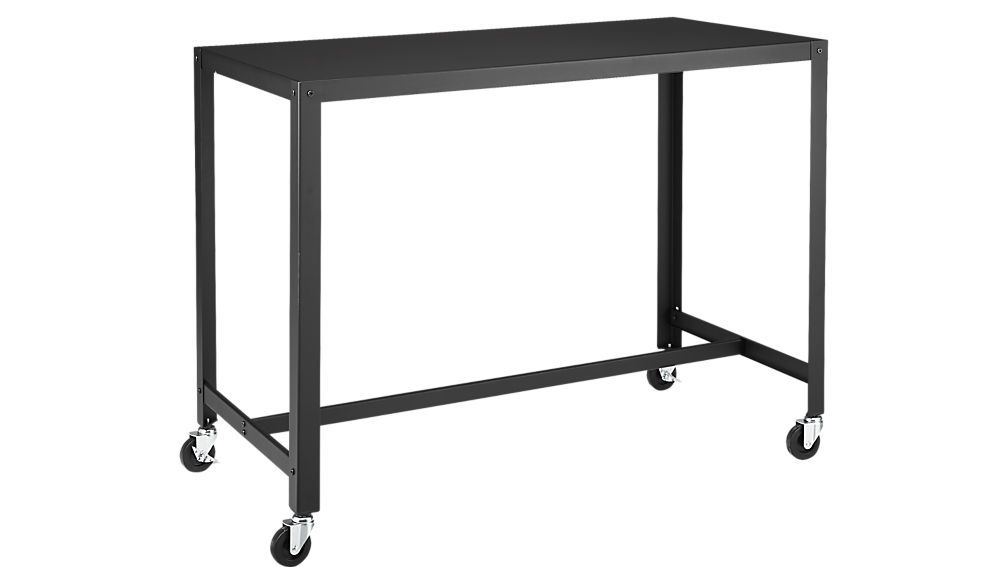 Go-Cart Rolling Counter table stand up desk