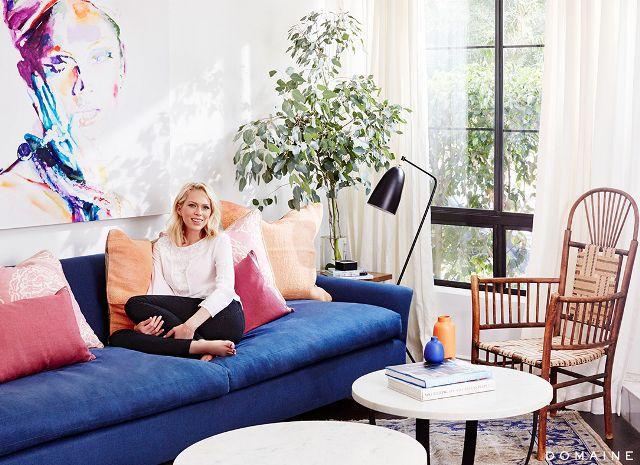 Erin Foster—bright living room
