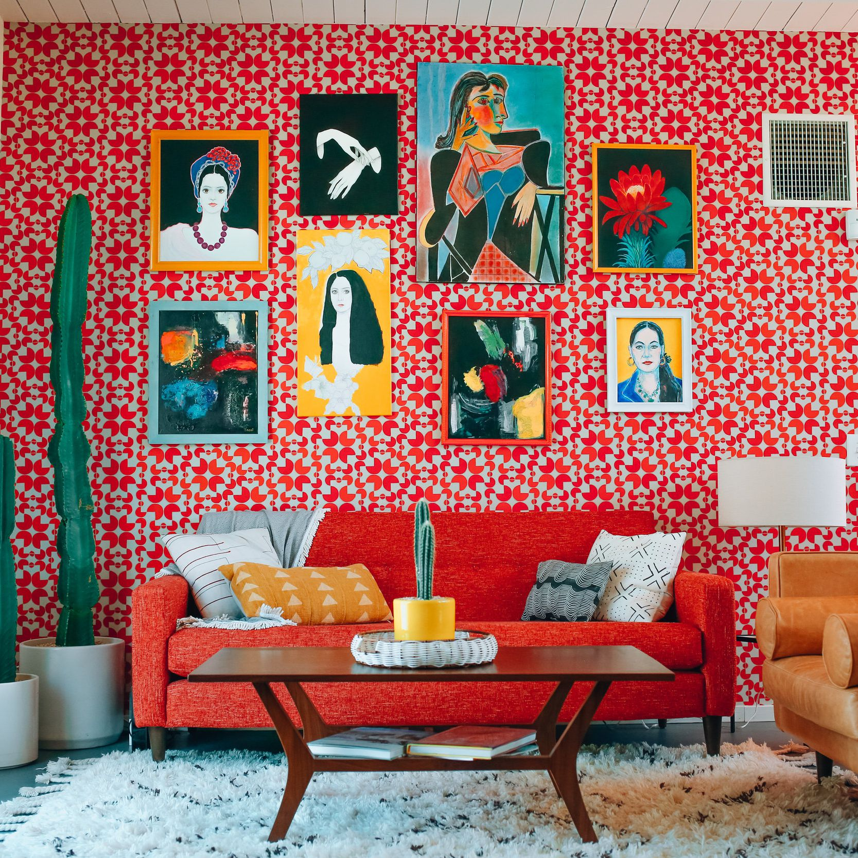 Decorate With Red In The Living Room, Red Living Room Ideas