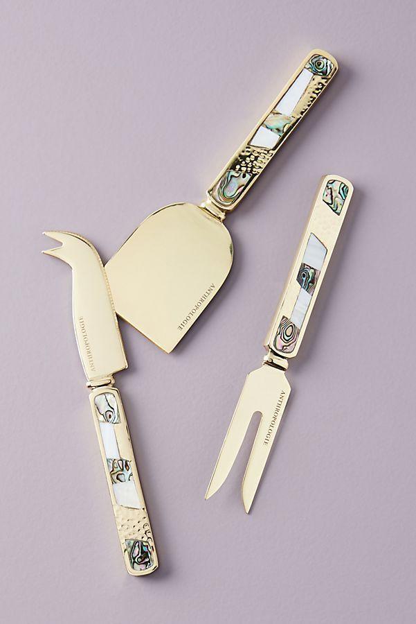 Mina Cheese Knives, Set of 3