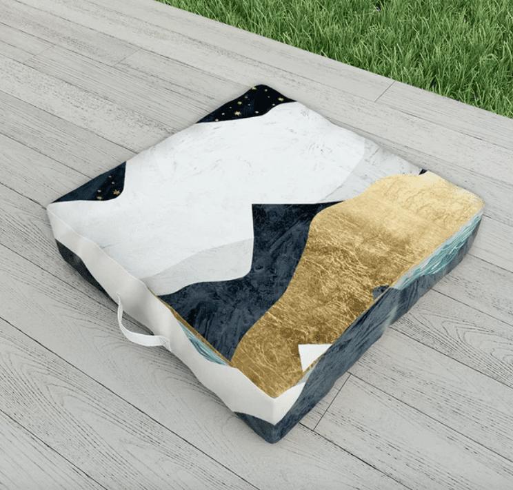 East Urban Home Indoor/Outdoor Floor Pillow
