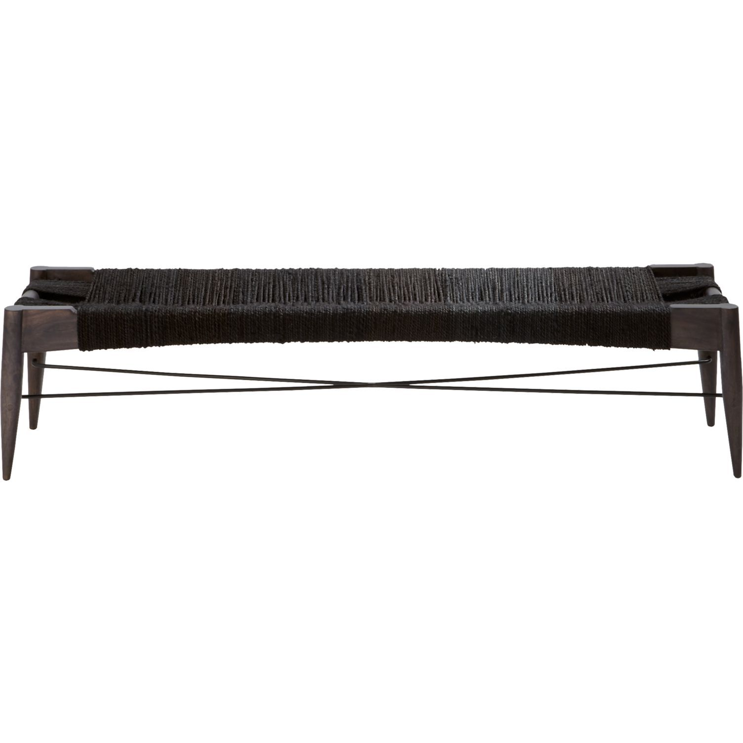 Wrap Large Black Bench