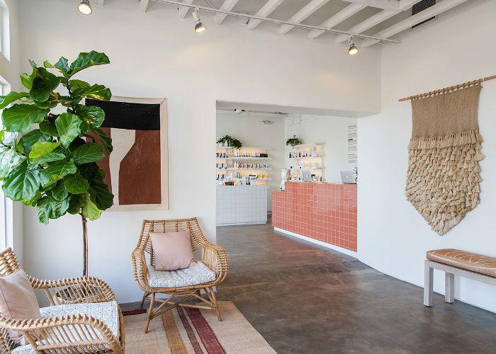 Heyday Los Angeles studio waiting room