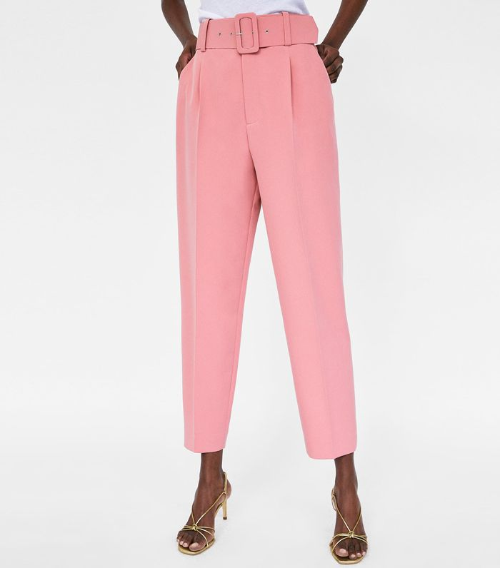 Zara Pants With Belt