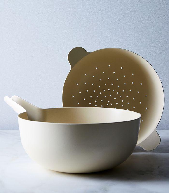 Ekobo Recycled Bamboo Colander & Pour Bowl Set