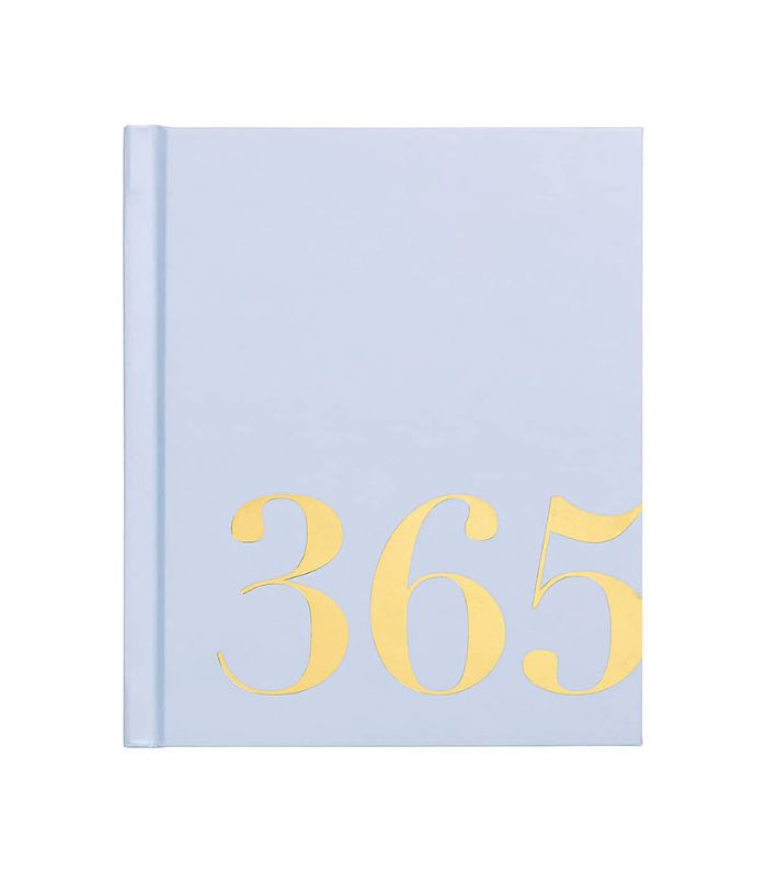 Kikki.k 'Time Is Now' Mini 365 Journal - Blue