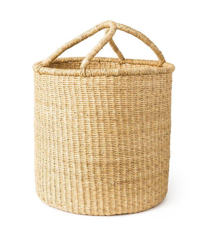 Bogla Basket Weavers Tall Market Basket