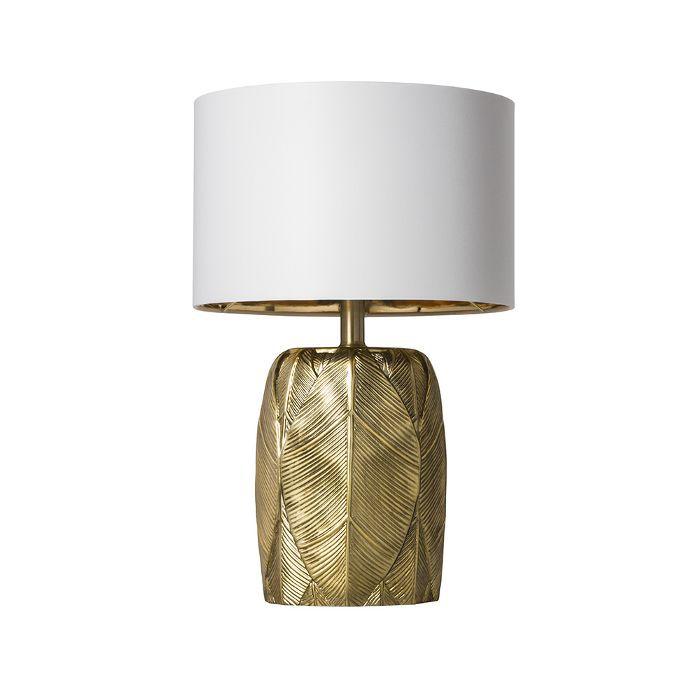 Target Leaf Table Lamp Gold
