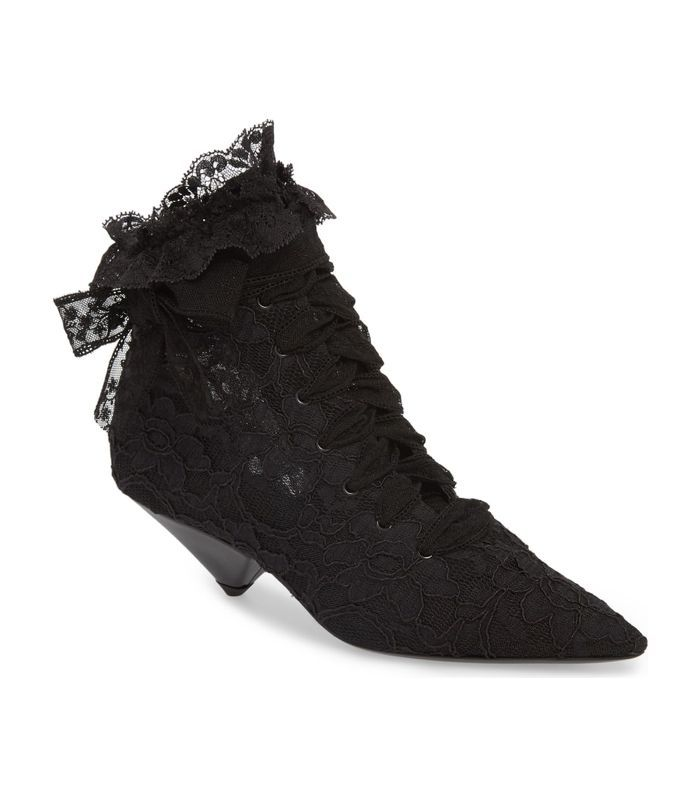 Blaze Embellished Pointy Toe Bootie
