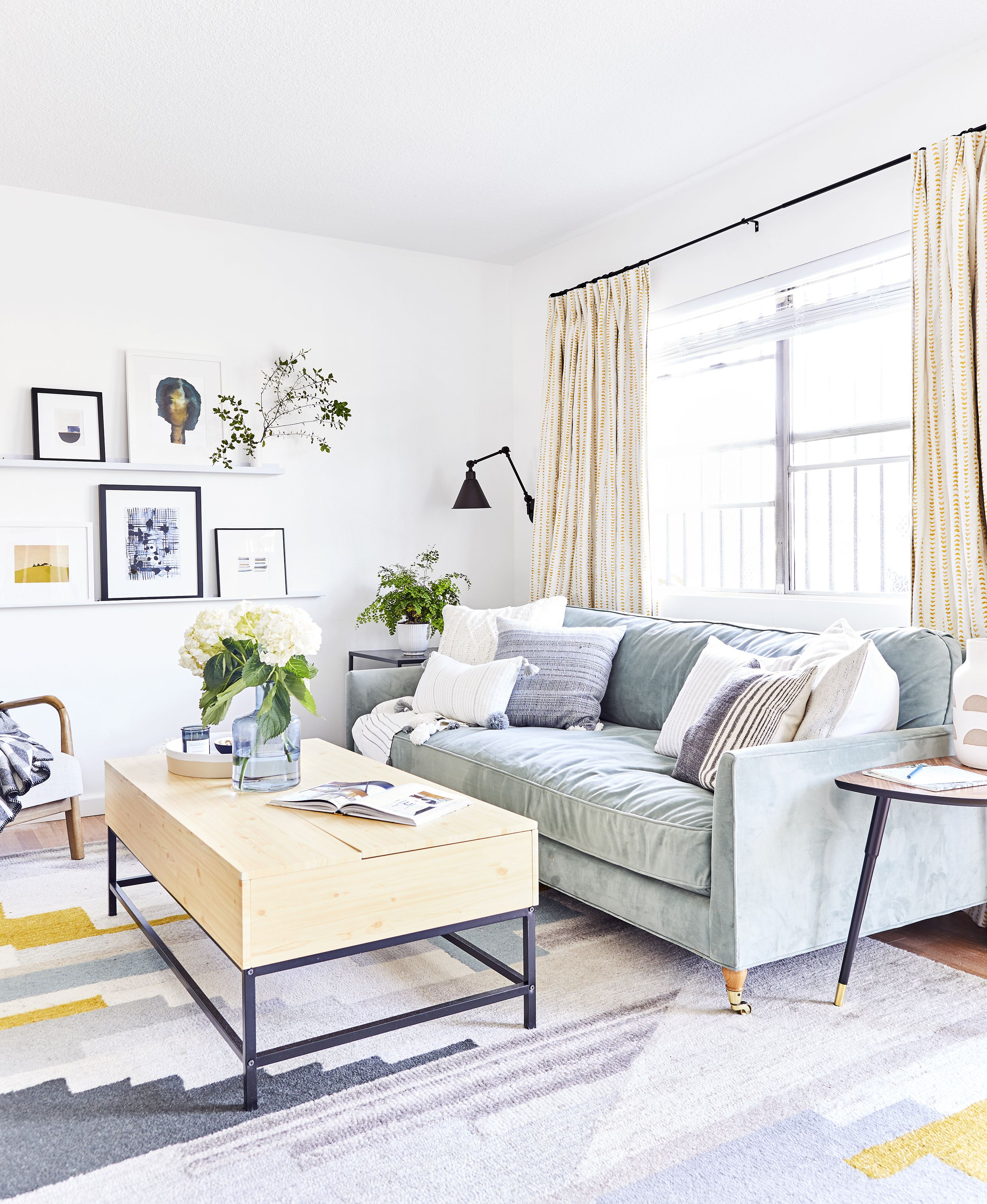 How to Furnish a Living Room - Living Room Design Ideas