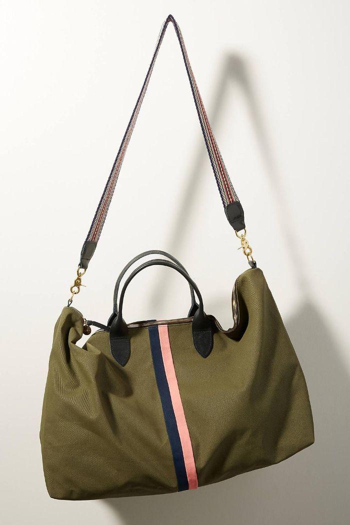 Waxed Canvas Weekender Bag
