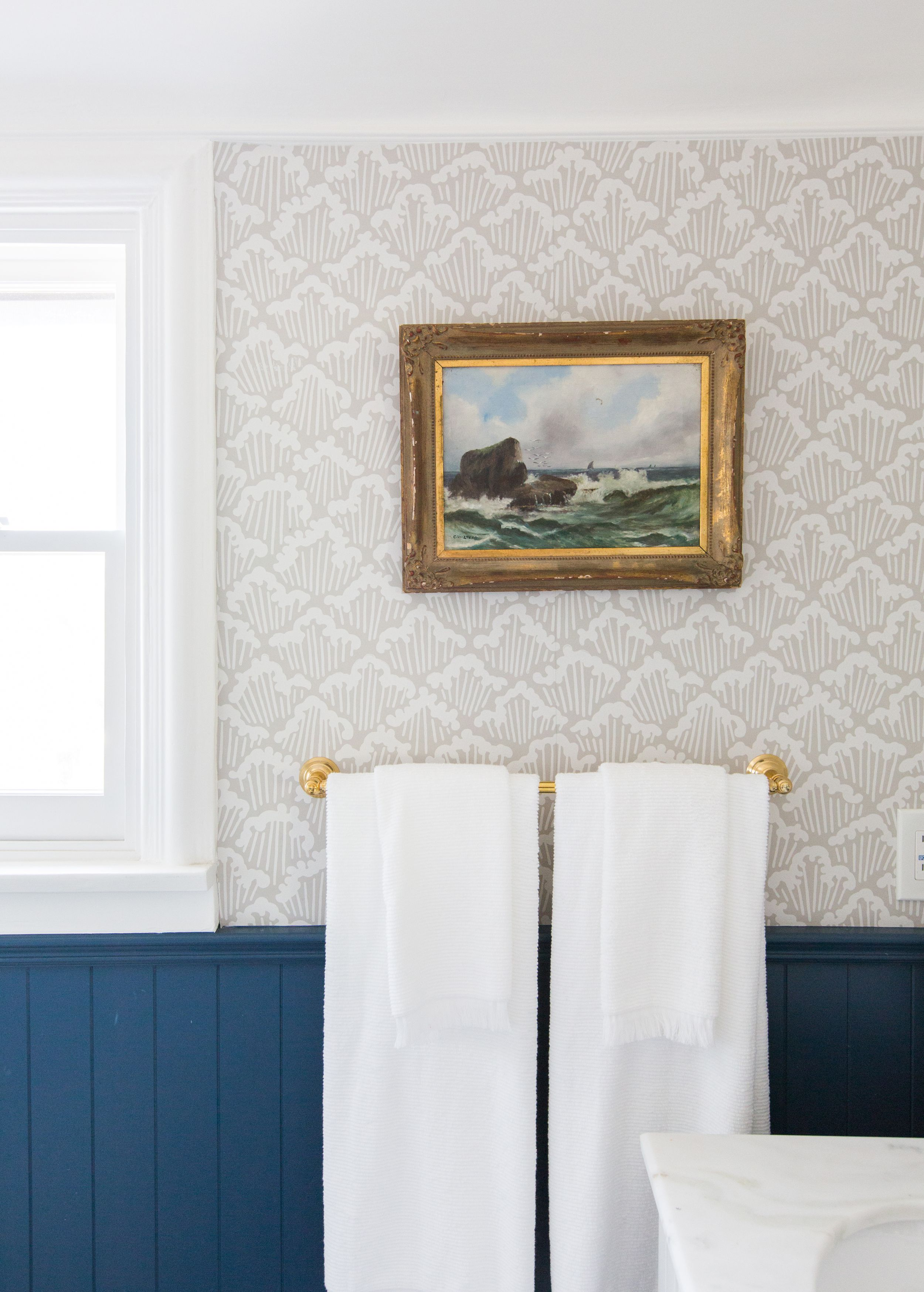 These Bathrooms Make A Great Case For Installing Wallpaper
