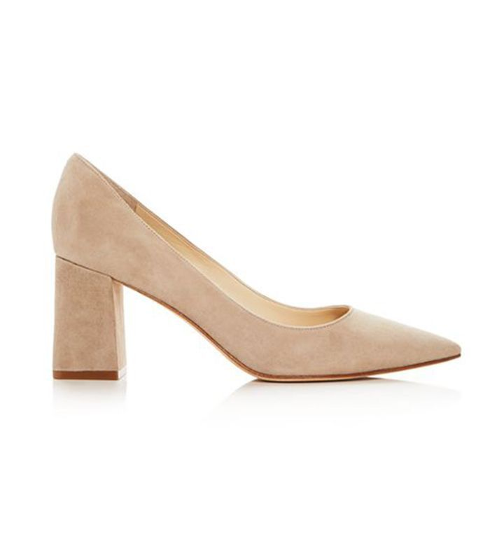 Zala Suede Pointed Toe Pumps