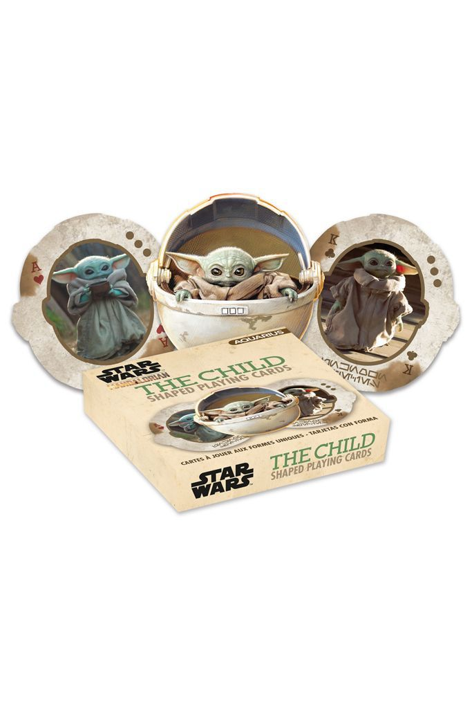 Star Wars The Child Shaped Playing Cards