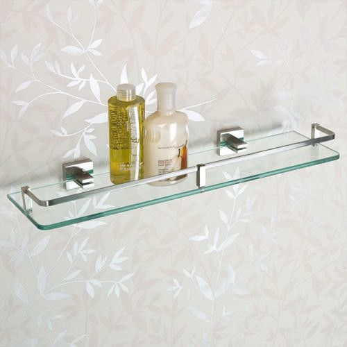 Albury Tempered Glass Shelf by Signature Hardware