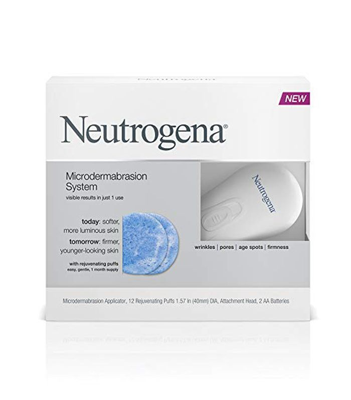 Neutrogena Microdermabrasion Starter Kit At-home microdermabrasion kits