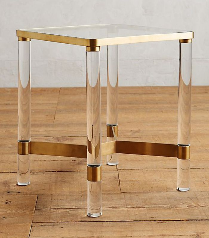 Oscarine Lucite End Table