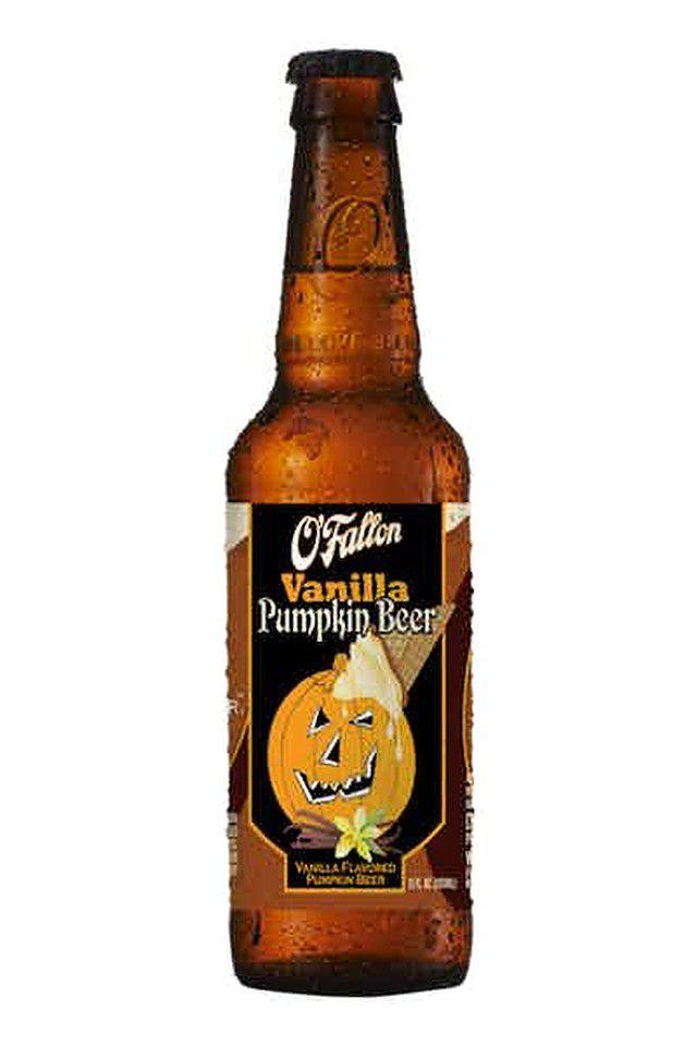 A bottle of pumpkin beer.