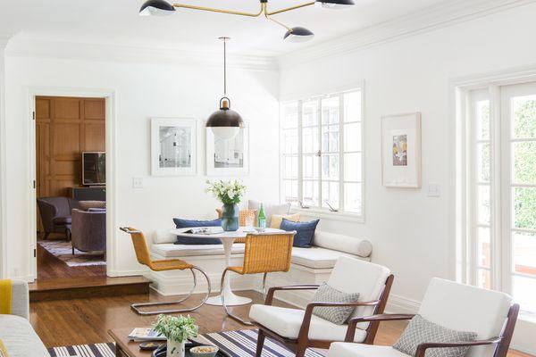 living room dining room emily henderson design