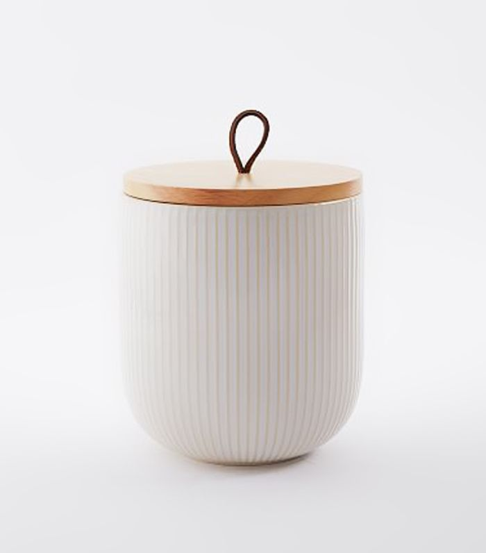 Textured Kitchen Canister