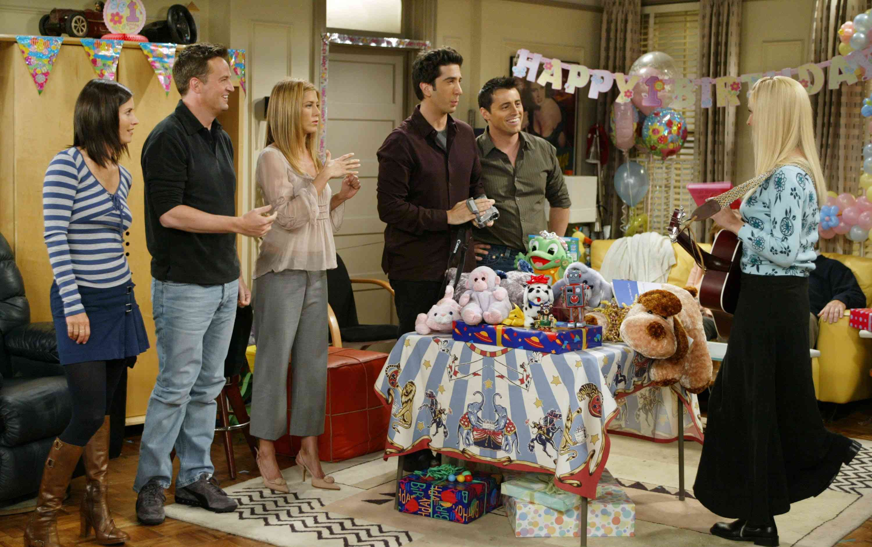 Personajes del programa de televisión Friends