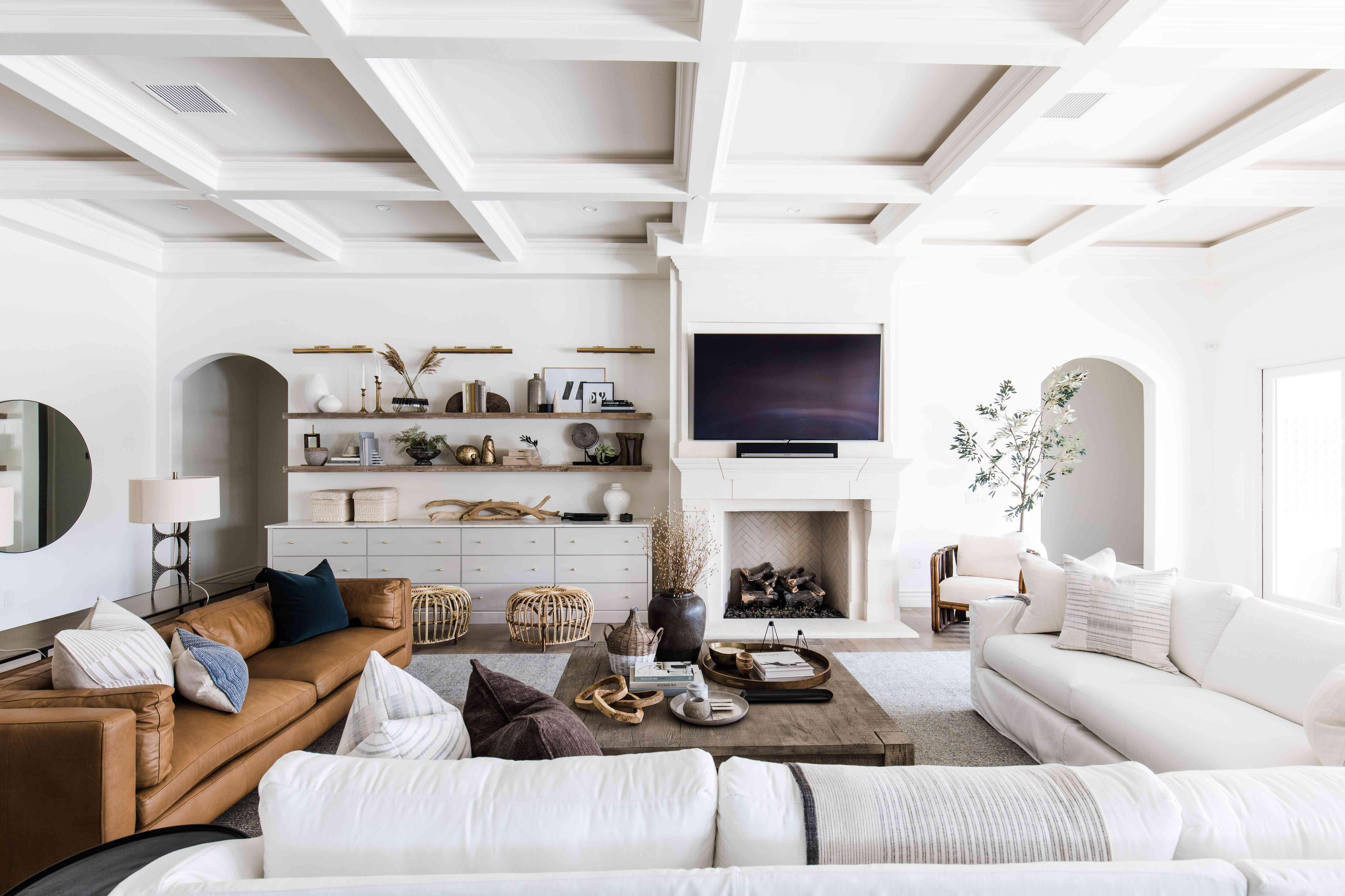 arizona home tour - living room