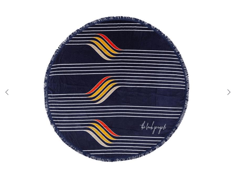 designer beach towel