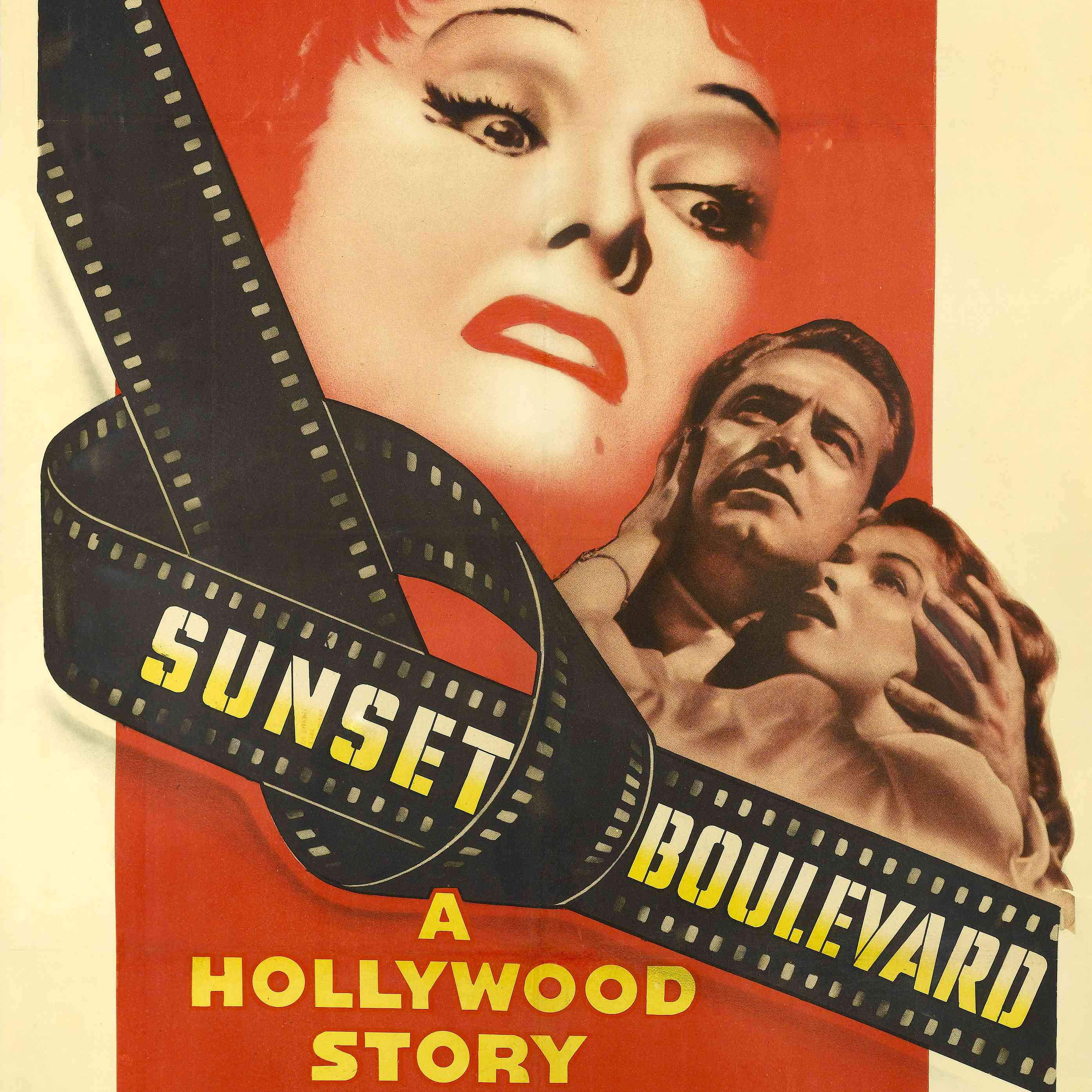 best black and white movies - sunset boulevard movie poster