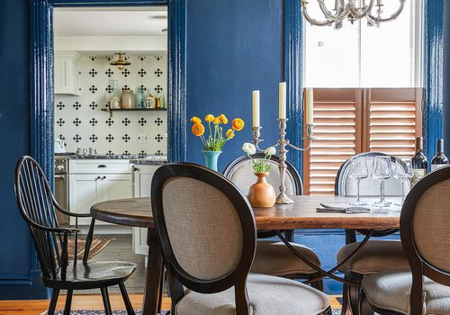 51 Blue Dining Room Ideas You Ll Want, Blue Dining Room