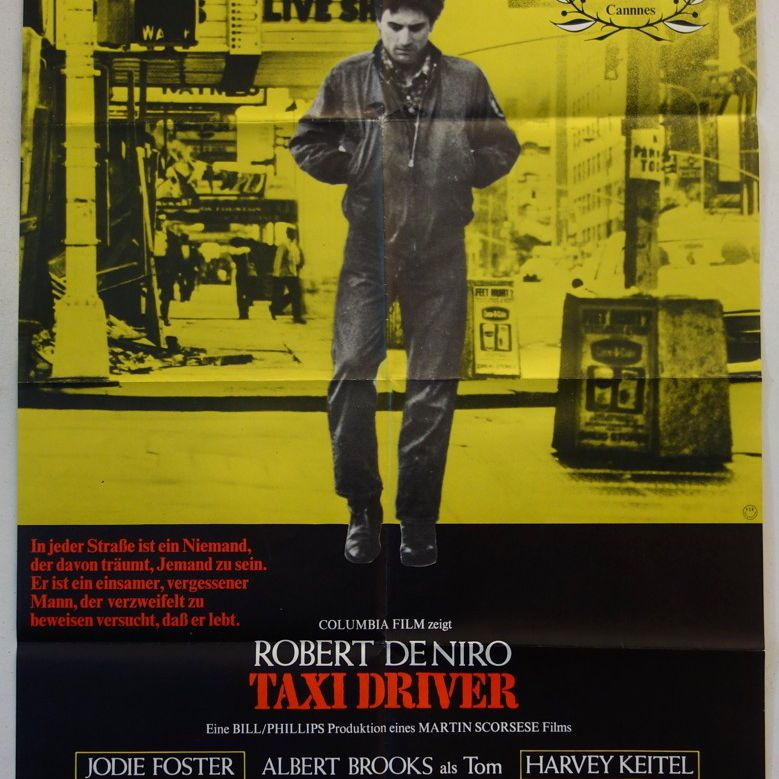Taxi Driver movie poster.