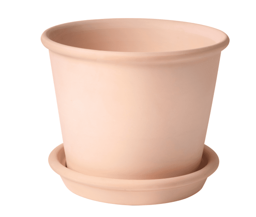MUSKOTBLOMMA Plant Pot With Saucer