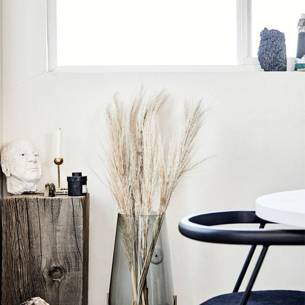 pampas grass décor