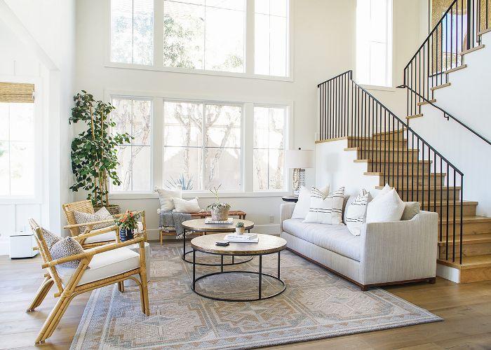 Casual California living room