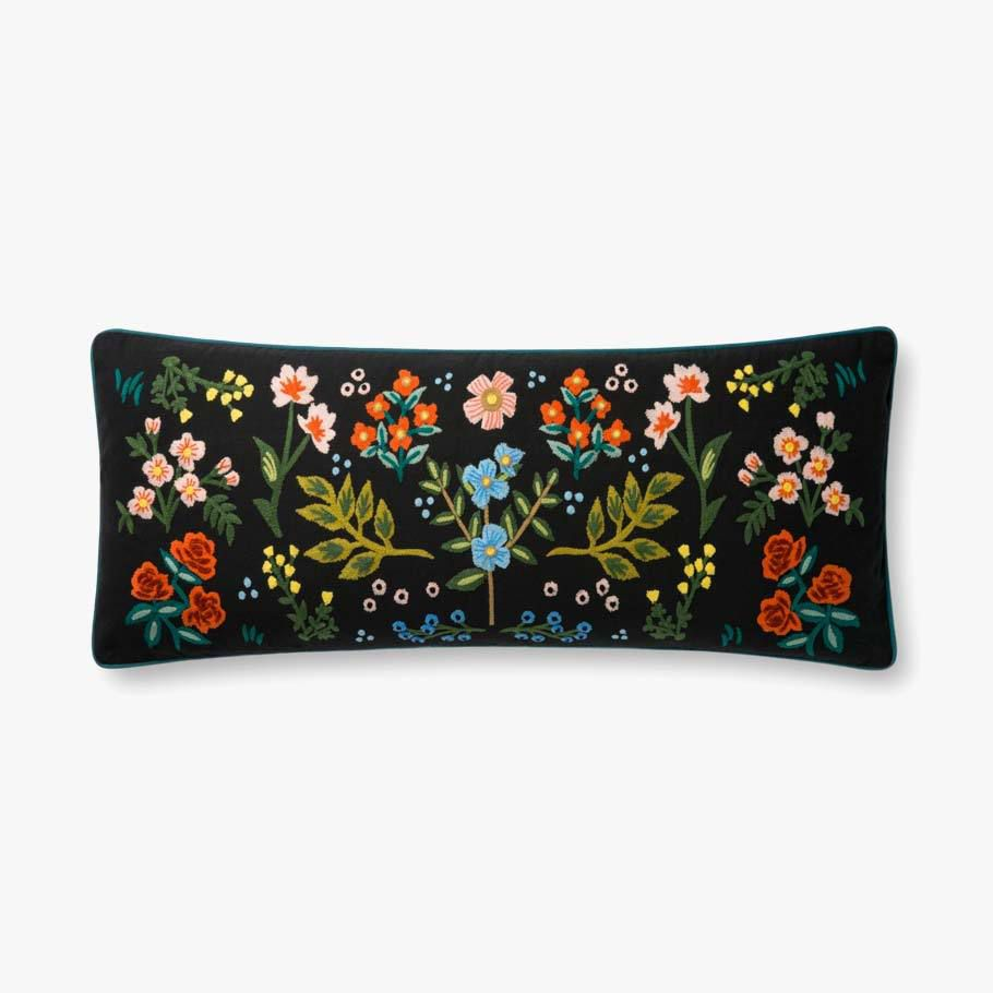 Wildwood Embroidered Pillow