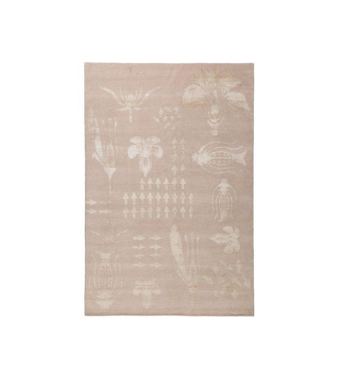 Christopher Kane x The Rug Company Botanical Anatomy Nude rug