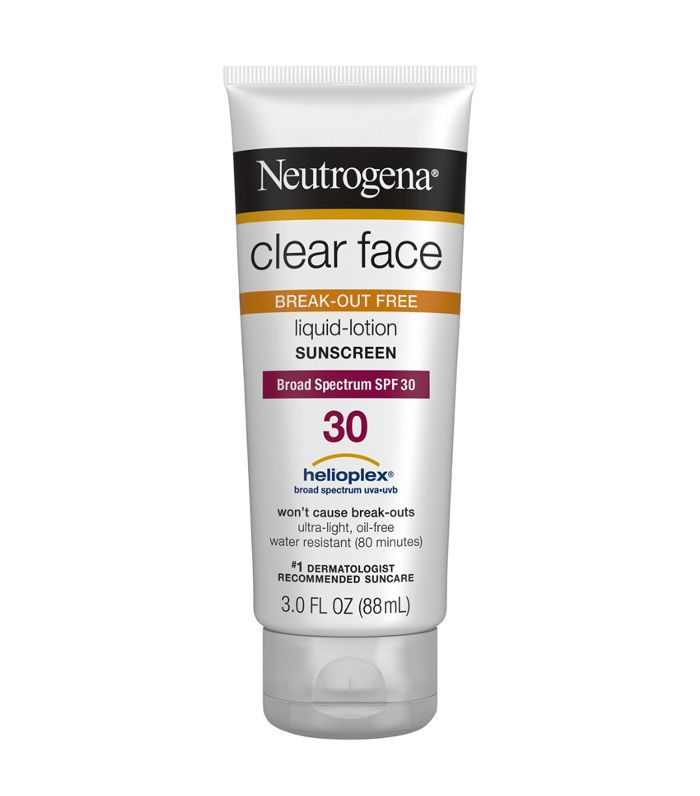 Neutrogena Clear Face Liquid Lotion Sunscreen Best Skincare at Target