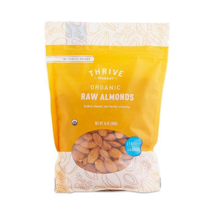 Thrive Market Organic Raw Almonds
